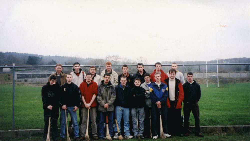 Back row (L to R): Seán Garvey, Kieran Divilly, James Carty, Des Lacey, Patrick Carty, David Farrell, Damien Ryan, Joe Moore.  Front row (L to R): John Finn, John O'Boyle, Donagh Hassett, Shane Broderick, Larry Headd, Sean Torpey, Joe Sweeney, Stephen Behan, Paul Leamy, Shane Coen (Captain).  Photo courtesy of Sean Garvey and Paul Leamy