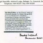 Review of The Way it Was Books Ireland 2001