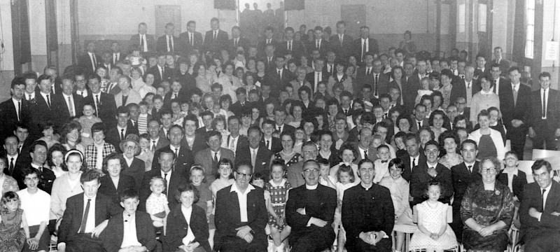 Ballinakill Parish Reunion, Kilburn, 1962